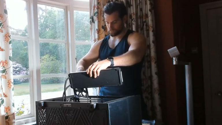 henry cavill PC gaming
