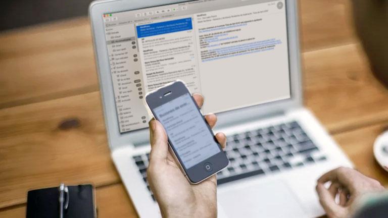 sincronizar el correo electrónico