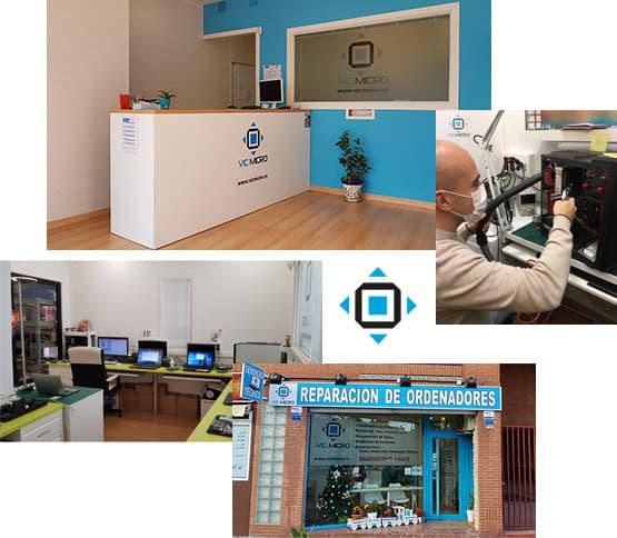 Tienda de reparación de ordenadores en Madrid