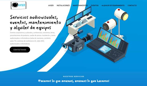 Avser, servicios audiovisuales