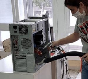 mantenimiento informatico verano, limpieza